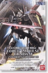 HG Gundam Seed Destiny # 10 Force Impulse Sword Silhouette Chrome Version 1/100 Model Kit