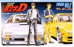 Initial D Mazda FC3S RX-7 with Takahashi Brothers 1/24 Model Kit
