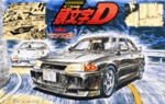 Initial D Mitsubishi Lancer Evolution III 1/24 Model Kit # 09