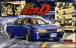 Initial D Nissan Sileighty 1/24 Model Kit # 03