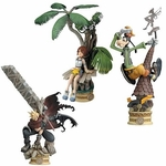 Kingdom Hearts Formtion Arts Series 2 Figure Set of 3