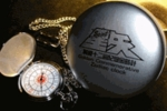 Knights of Zodiac Gold Logo Pocket Watch - Saint Seiya