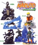 Naruto Capsule Figures Part 2 Set of 6