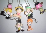 One Piece Keychain Figure Series 11 Set of 6