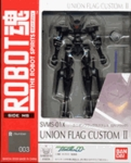 Robot Spirits Gundam 00 #003 Union Flag Custom II Action Figure Bandai