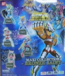 Saint Seiya Myth Cloth Bronze Saint Gashapon Capsule Figure Set of 5  Bandai