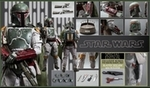 Quarter Scale Star Wars Episode VI Return of the Jedi Boba Fett 1/4th Scale Action Figure Hot Toys Special Exclusive