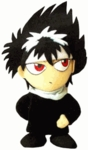 "Yu Yu Hakusho 8 "" Inches Plush Doll - Hiei"
