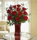 Blooming Love 12 Premium Christmas Red Roses