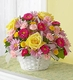 Bright Flower Basket
