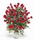 Five-5 Dozen red rose Happy Valentine day
