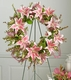 Lily and Eucalyptus Memorial Wreath