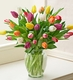 Multicolored Tulips Valentine