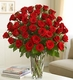 Premium 4 dz Long Stem Red Roses Happy Valentine day