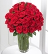 Red Rose Bouquet - 36 Long Stem Roses