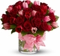 Valentine Tulips Bouquet