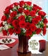 Three Dozen Long Stemmed Red Roses w/Vase