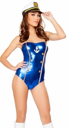 Sailor Halloween Costume, Cheerleader Costumes, Sailor Party Outfit