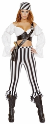 Beautiful Pirate Mate, Pirate Mate Costume 4653, Pirate Costume for Women