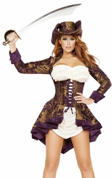 Pirate Costume, Classy Pirate 4649, Pirate Costume for Women