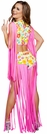 Foxy Flower Child Hippie Costume, Disco Costume, Hippie Costume 4640