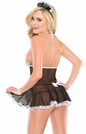 French Maid Babydoll, Coquette Maid Babydoll 1938, Maid Bedroom Costume