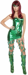 Gorgeous Greenthumb Mistress Costume, Ivy Costume, Women Ivy Costume