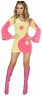 Groovy Yin Yan Dress Costume