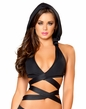 Clubwear, Hooded Wrap Around Halter Top