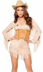 Cowgirl Costume, Sexy Sheriff Costume, Cowgirl Dress 10070