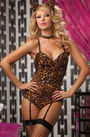 Leopard Kitty Teddy Bedroom Costume