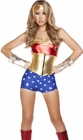 Lusty American Superheroine Costume