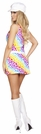 Lusty Hippie Child Costume, Disco Girl Costume, Hippie Outfit