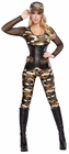 Lusty Lieutenant Army Camouflage Costume