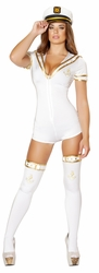 Lusty Navy Babe Costume, Women Sailor Costume, Roma Sailor Costume 4524