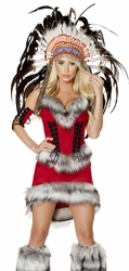 Native American Babe Costume, Indian Costume, Red Indian Outfit, Native American Babe 4705