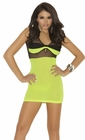 Neon Mini Dress