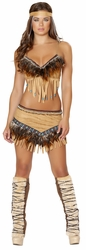 Noble Indian Sweetheart Costume, Noble Indian, Indian Women Costume, Roma 4479