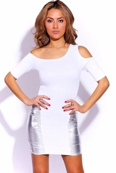 White Mini Dress, Clubwear, Party Dress