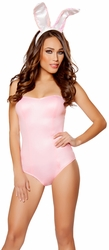 Playboy Outfit 10095, Bunny Bedroom Costume, Pink Bunny