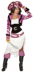 Deluxe Pirate Costume, Women Pirate Costume, Precious Pirate Costume