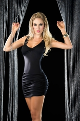Sexy Racer Back Criss Cross Dress, Little Black Dress,  Clubwear