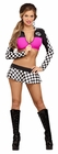 Raceway Hottie Sleeved Top and Skirt