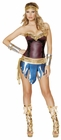Sexy Warrior Woman Costume
