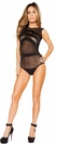 Sheer Lingerie Romper, Sheer Teddy, Sheer Bodysuit