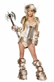 The Sexy Viking Costume by J Valentine, Viking Costume for Women, Female Viking Costume
