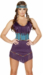 Sexy Native American Costume, Indian Costume 4707, Tribal Hottie Costume
