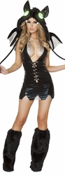 Sexy Vampire Costumes, Adult Gothic Halloween Costume for Women