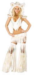 Indian Fringe Top and Skirt, Sexy Native American Costume, New Indian Costume