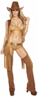 Wild Western Temptress Cowgirl Costume